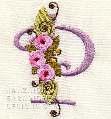 Letter P Design 256883