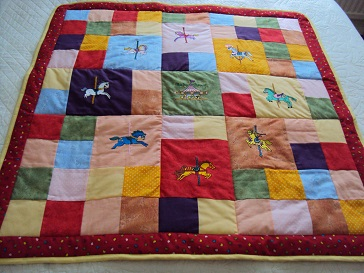 Free embroidery designs cute embroidery designs for Floor quilt for babies