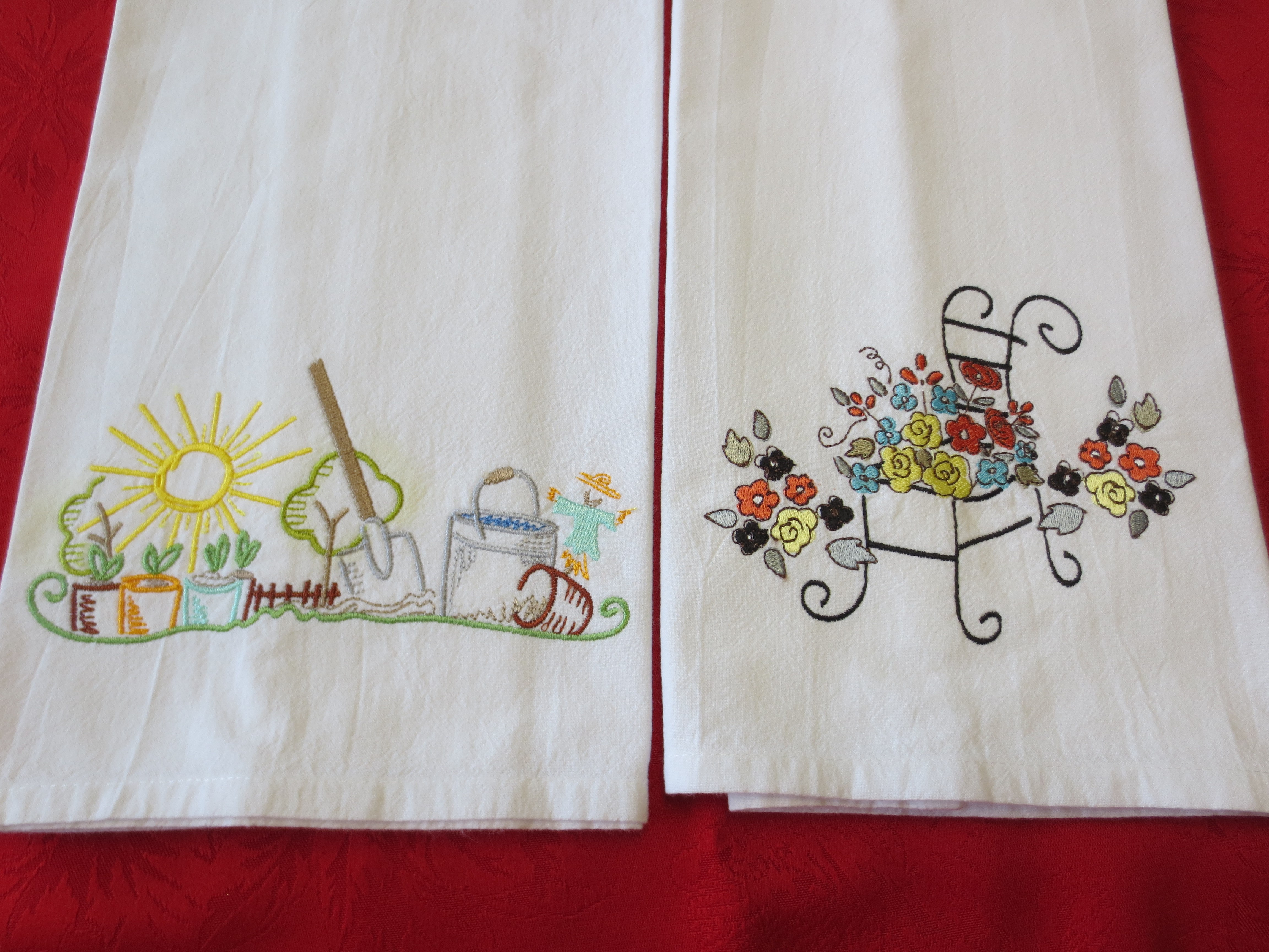 Machine Embroidery Designs For Kitchen Towels - Towel Image JardImage.co