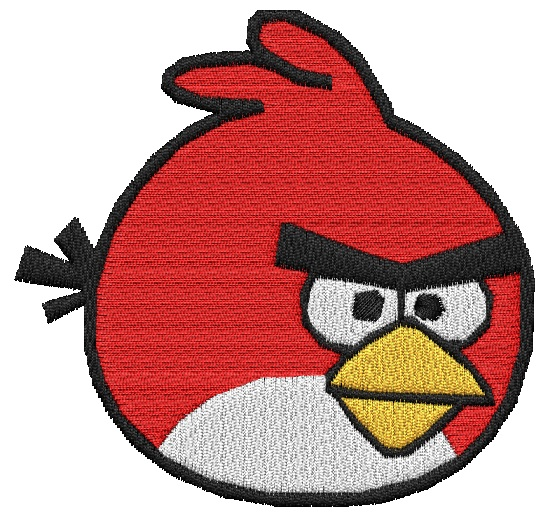 Angry Bird Embroidery Designs