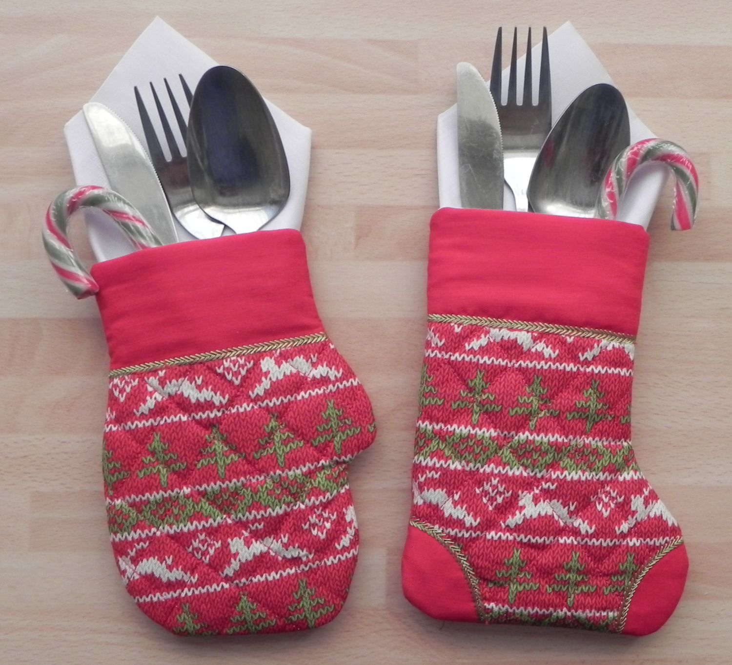 Cutlery Christmas Stocking Knitting Pattern : Free Embroidery Designs, Cute Embroidery Designs