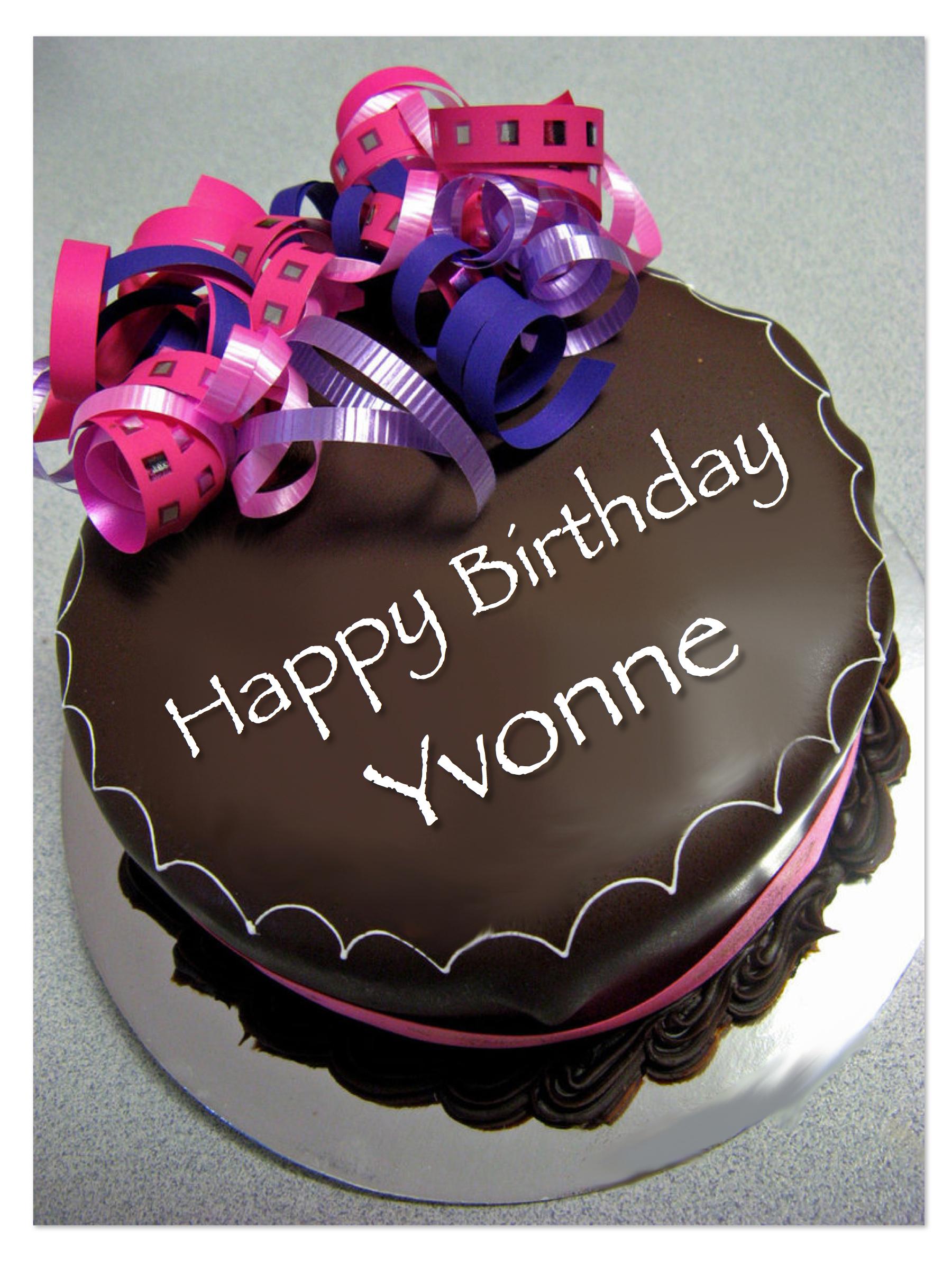 Birthday Cake Yvonne