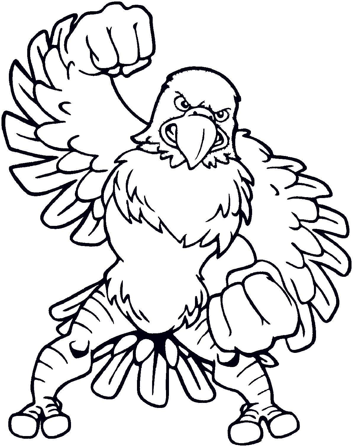 coloring pages of eagles - photo#2