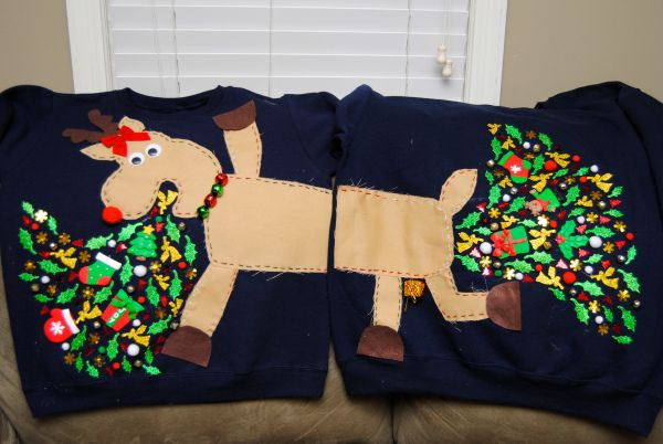 How many Cuties actually own an Ugly Christmas sweater? I found these on Pinterest.
