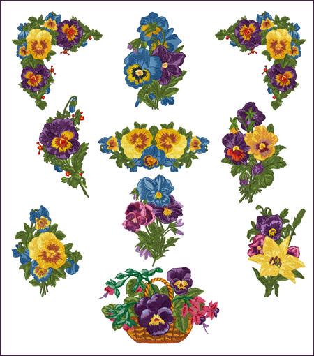 Free Machine Embroidery Applique Flower Designs Flowers Healthy