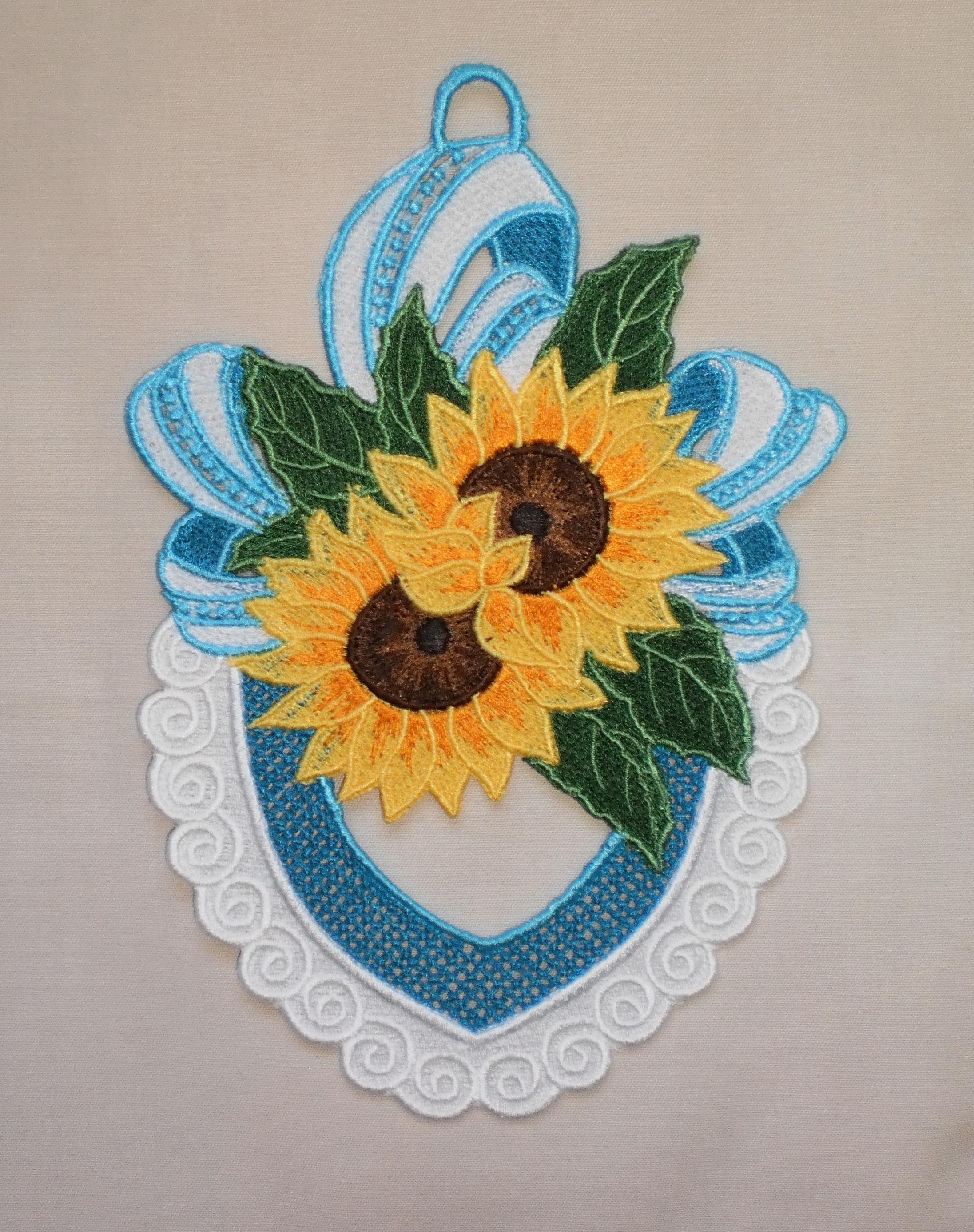 Suncatcher Sunflower Bouquet From KO Designs