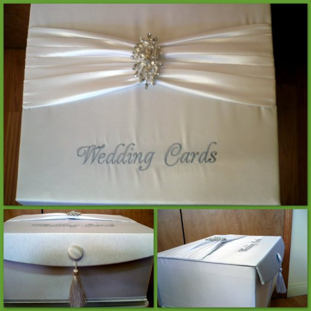 Wedding Gift For Dear Friend : ... box for gift cards for her daughter s wedding this was the result