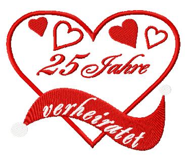 25 jahre verheiratet