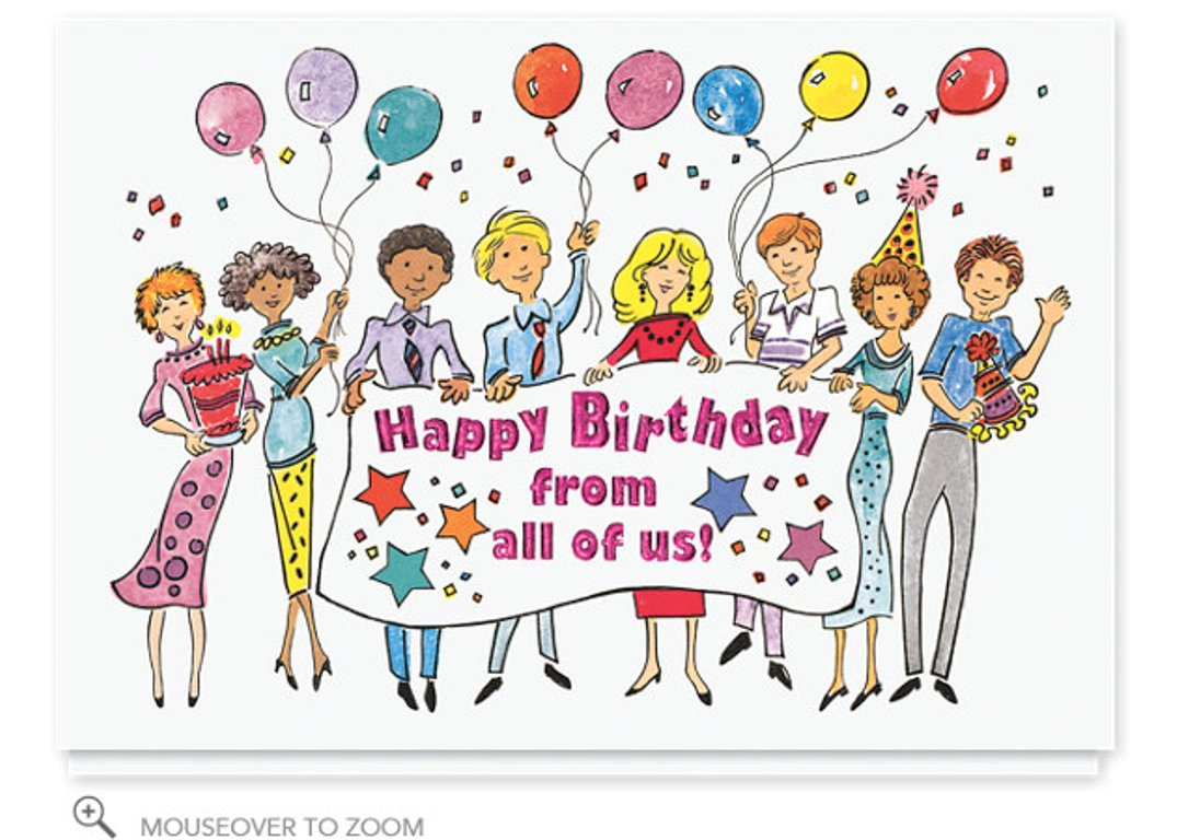 Happy Birthday Greetings From All Of Us Atletischsport