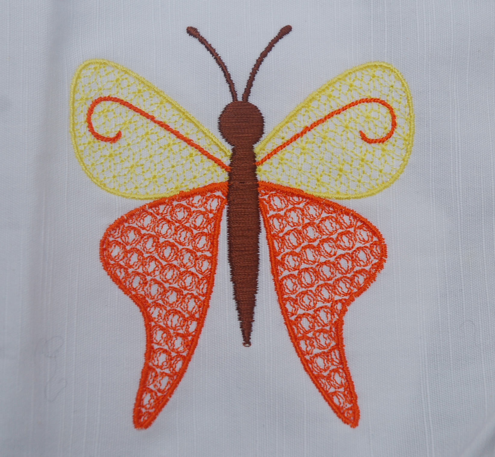 Free Embroidery Designs Cute Lidia Butterfly The First Picture Is Of Lenamae Test Stitched For Me In Pes