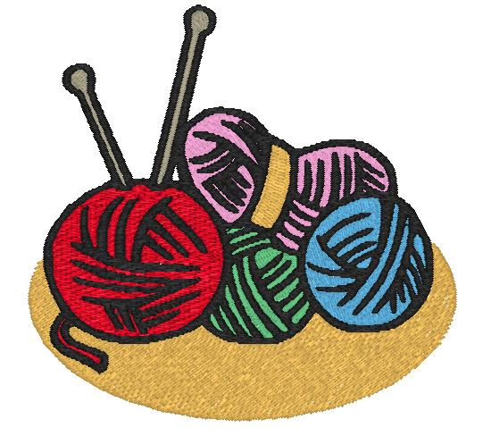 Knitting Crocheting Clipart : Free embroidery designs cute