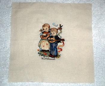 hummel machine embroidery