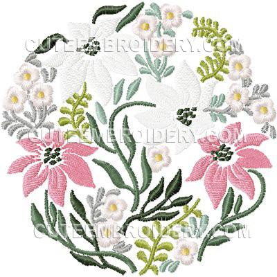 Cute Embroidery Flower Designs Turtally