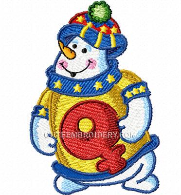 Alpha bonhomme de neige Ea7b61bd86c1
