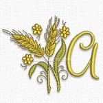 Wheat font