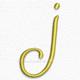 Letter j lowercase