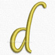 Letter d lowercase