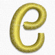 Letter e lowecase