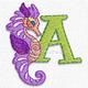 Seahorse font