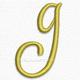 Letter g lowercase