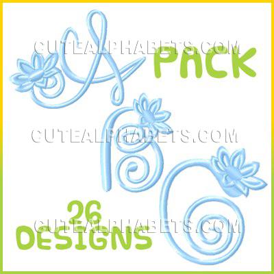 Blue lily Font