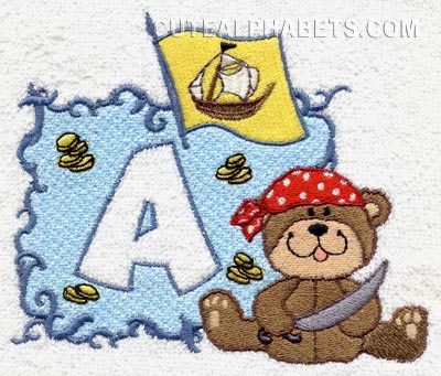 Pirate bear font
