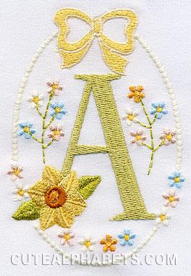 Daffodils font