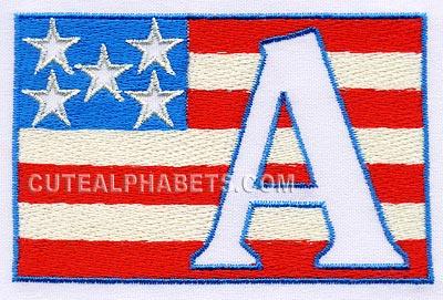 Patriotic font