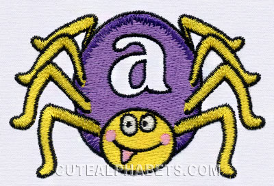 Spider font