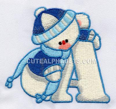 Snow bear font