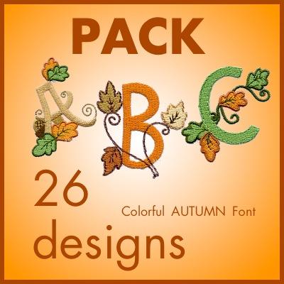 Colorful Autumnfont font
