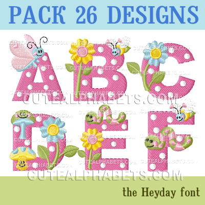 Heyday font