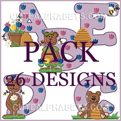 Spring bears font