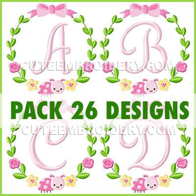 Light pink font