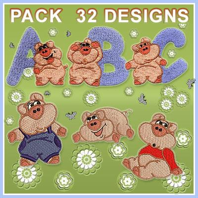 Funny Piggy font