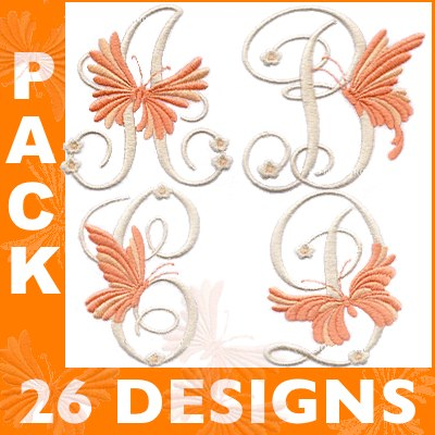 Orange Butterfly font