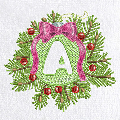 Embossed christmas joy font. Exclusive