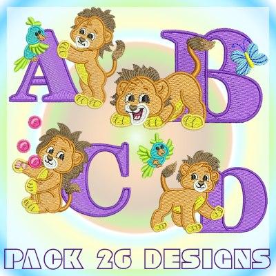 Lion font