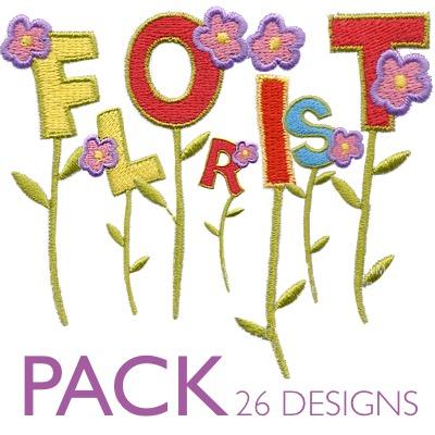 Florist font