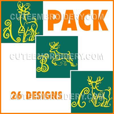 Golden Deer Font