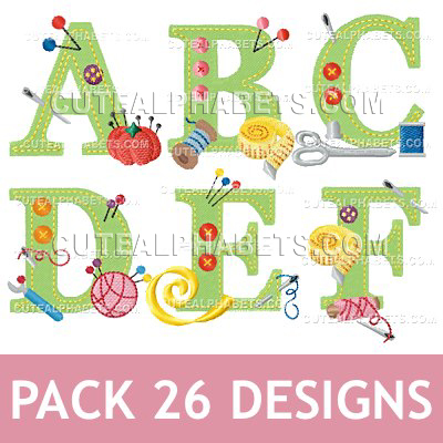 Sewing Font