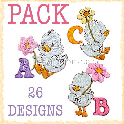 Cute Ducks Font