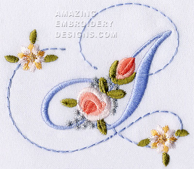 Sweet Font Cute Alphabets Embroidery Fonts