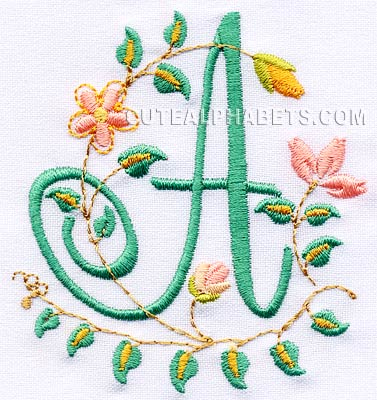 Font and Monogram Embroidery Designs Smartstitches embroidery