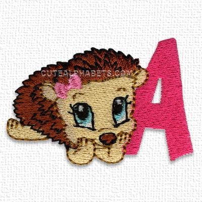 Hedgehog font