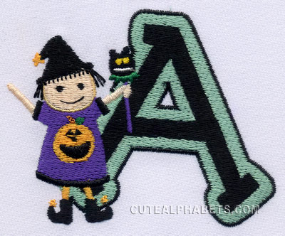 Little witch font